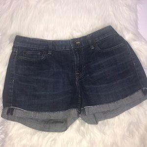 J. Crew Hipslung Denim Shorts